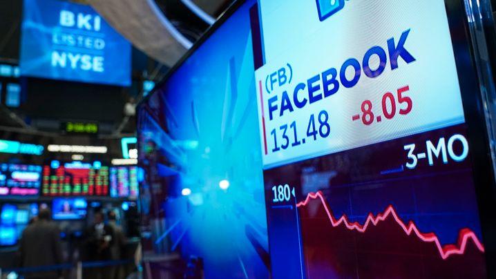 Tech-Ausverkauf an der Wall Street: Google, Amazon und Co betreten Bärenmarkt-Gebiet