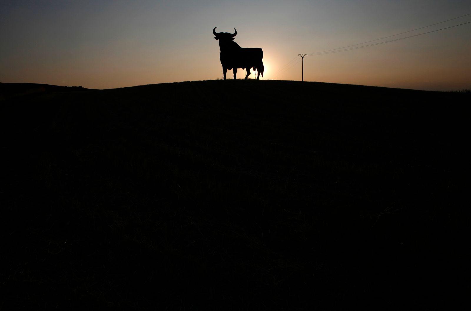 Bulle; Sonnenuntergang