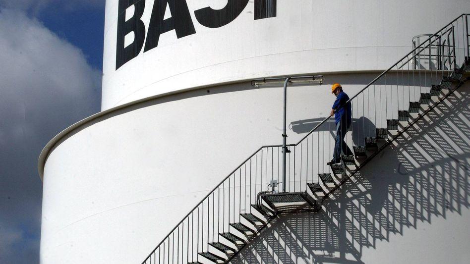 BASF-Werk in Ludwigshafen: Die Produktion in Deutschland ist von dem Verkauf nicht betroffen