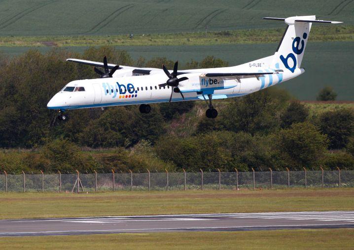 Britischer Regionalflieger Flybe meldet Insolvenz an