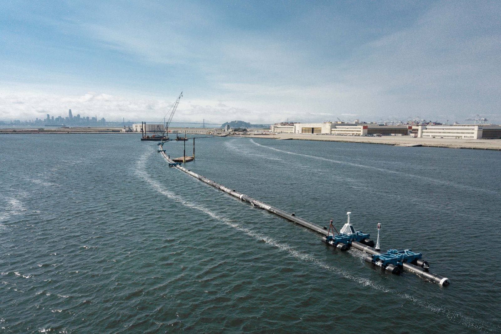 «The Ocean Cleanup» - Meeres-Müllsäuberung vor San Francisco