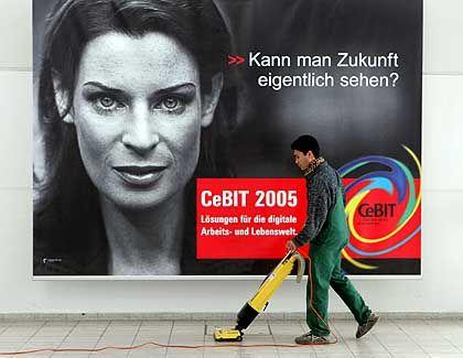 Das große Reinemachen: Seit Tagen wird in Hannover im Mehrschichtbetrieb gesaugt
