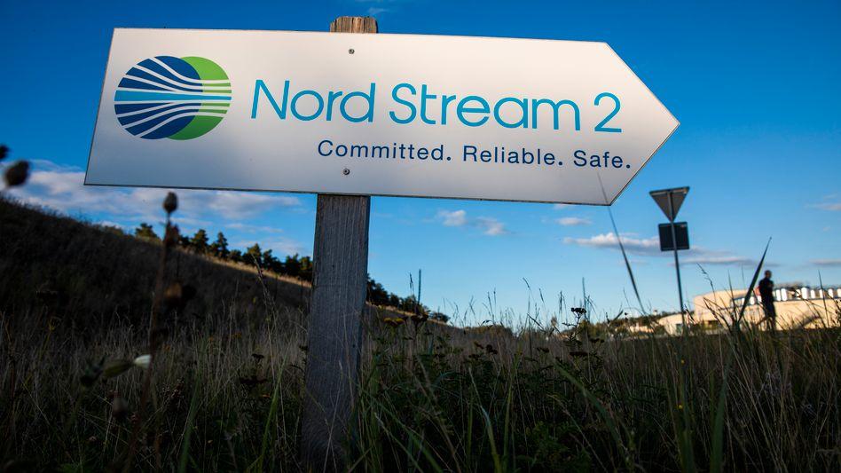 Nord Stream 2: Die Erdgas-Pipeline ist fast fertig. Dennoch droht das Aus