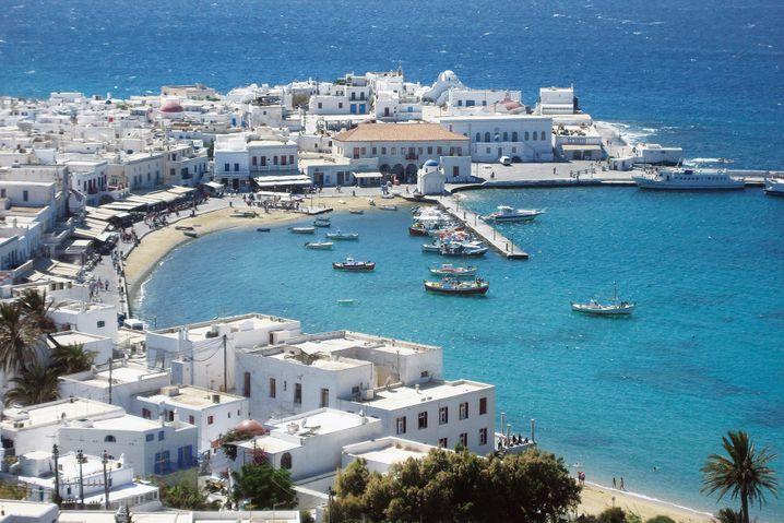 Mykonos gilt als Party-, Promi- und Schwuleninsel mit viel Nachtleben