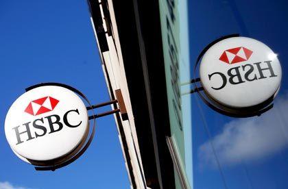 HSBC-Filiale in London: Die größte Bank Europas fängt Verluste in Amerika mit Gewinnen in Asien ab