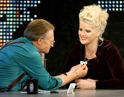 Smith bei TV-Talker Larry King
