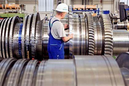 Großes Rad: Siemens brechen die Aufträge weg