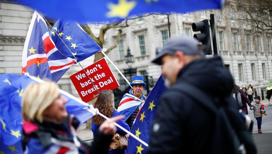 Anti-Brexit-Demo in London: Der Brexit wird teuer - für die Europäer, aber vor allem für die Briten