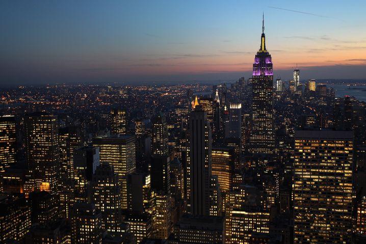 Skyline von New York: WeWork ist bereits jetzt größter Leasingnehmer in Manhattan