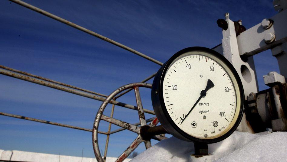 Druckabfall: In Europa kommt offenbar weniger Gas aus Russland an