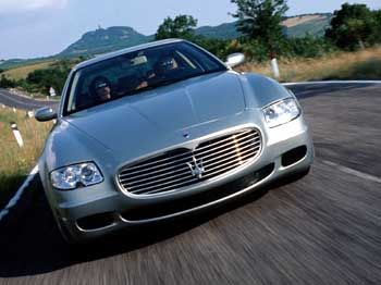 "Vorbild für den ""C1"": Maserati Quattroporte"