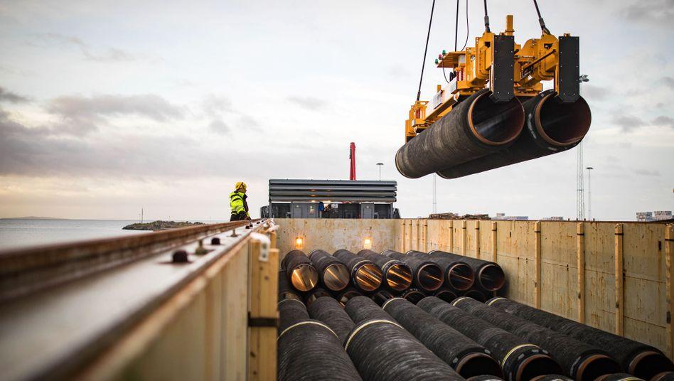 Die Nord Stream Pipeline bringt russisches Gas nach Europa - die USA und Polen sind not amused