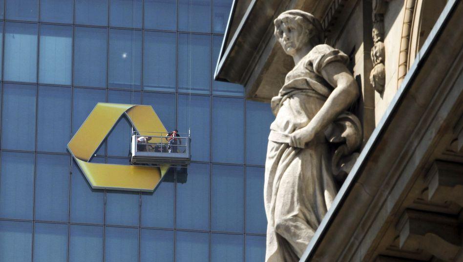 Commerzbank-Zentrale in Frankfurt: Diesmal sind die Aktionäre von den Quartalszahlen der Bank begeistert