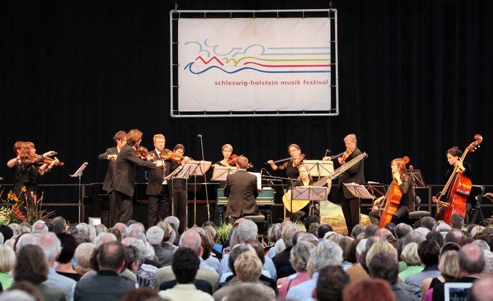 """Engagiertes Programm: Die """"Musikfeste auf dem Lande"""" sind seit Jahren ein Selbstgänger beim Schleswig-Holstein Musik Festival - die Mischung aus Kultur und Natur kommt gut an"""