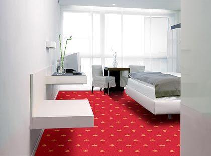 Den Gästen den roten Teppich ausgelegt: Eine Einrichtungsidee von Vorwerk