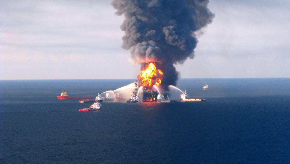 Havarierte Ölplattform Deepwater Horizon: BP wird der US-Regierung Milliarden Dollar an Schadensersatz zahlen