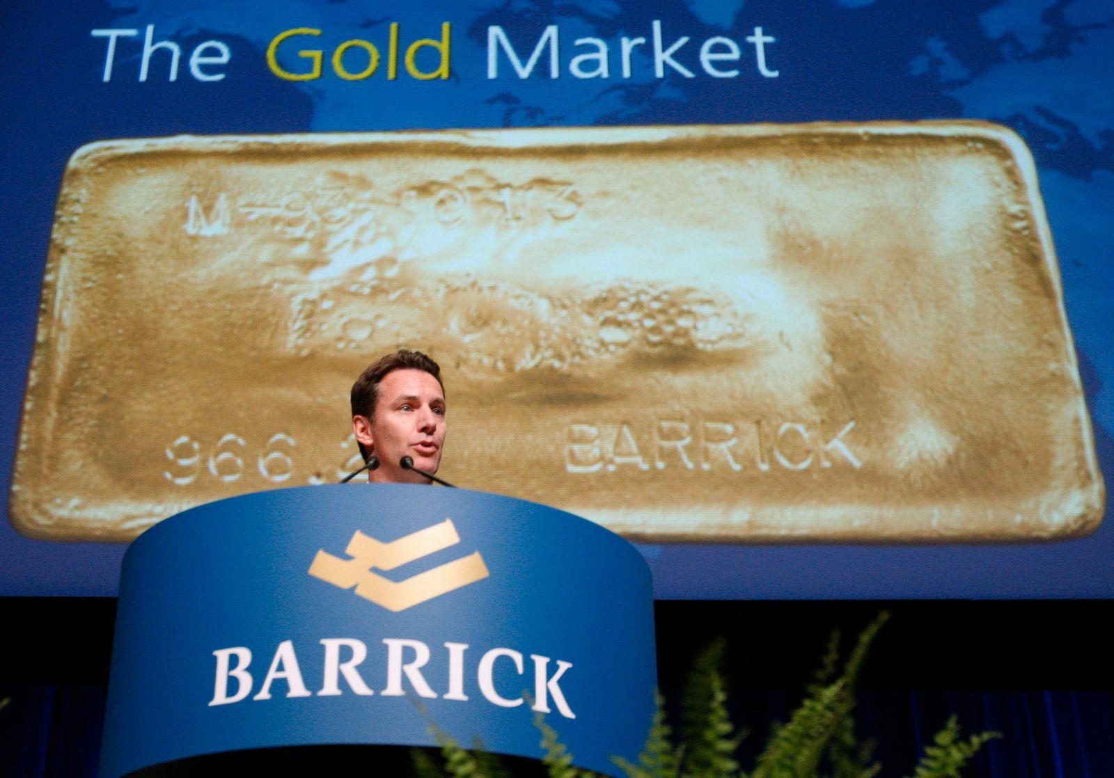 Aaron Regent / Barrick Gold
