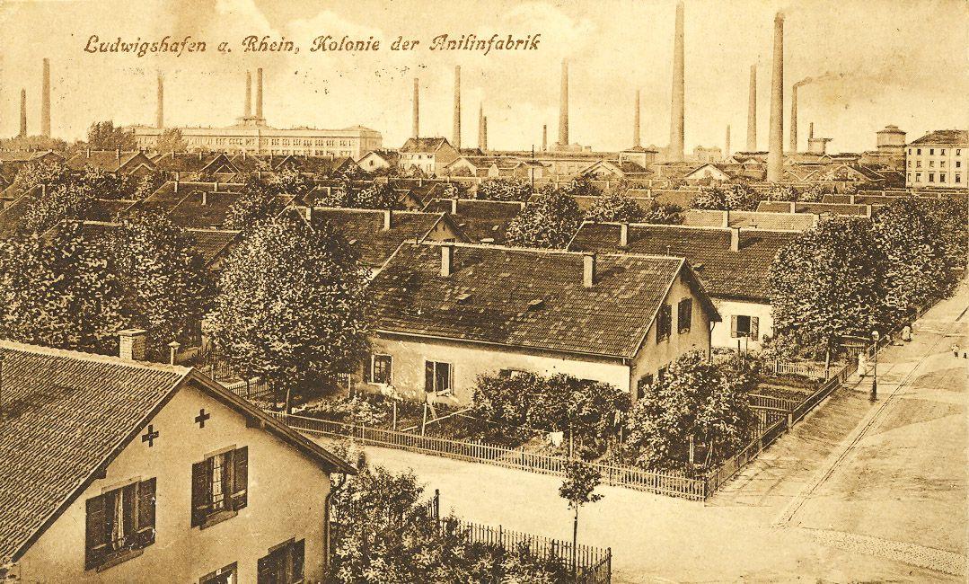 BASF-Arbeitersiedlung in Ludwigshafen-Hemshof