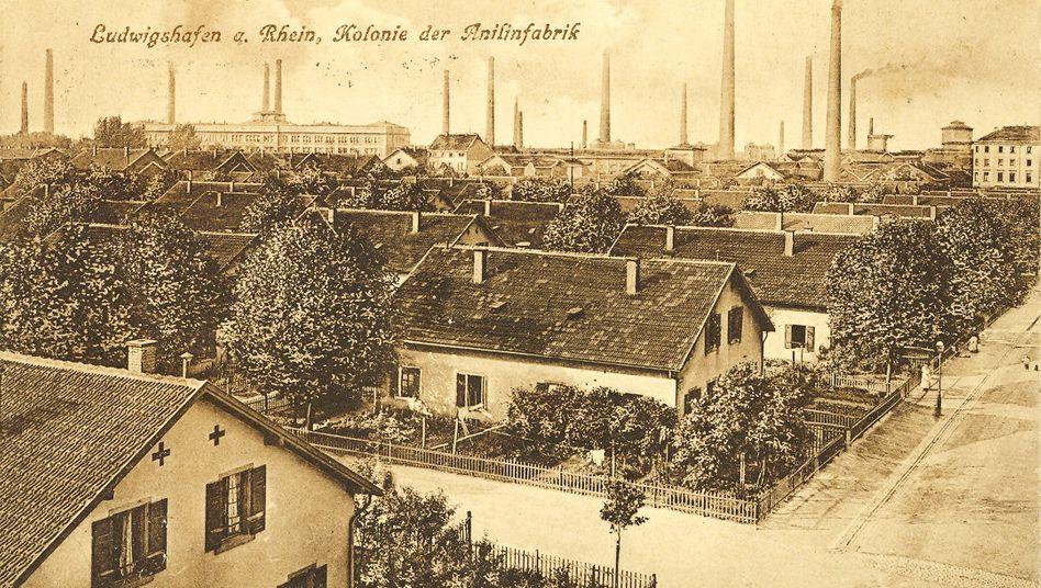 Historisches Vorbild: Arbeitersiedlung der BASF aus dem Jahr 1911