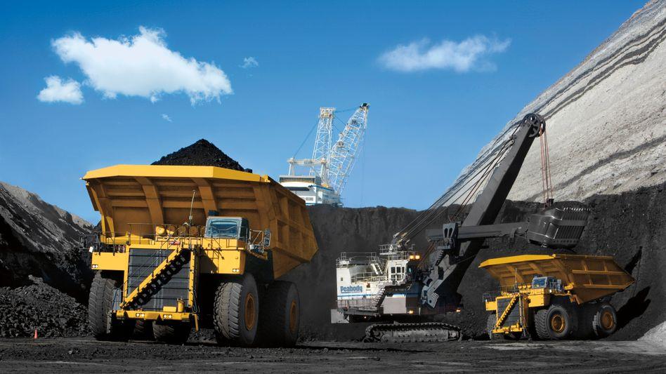 Steinkohleförderung von Peabody: Der sinkende Preis für den Rohstoff hat die Firma in die Insolvenz getrieben