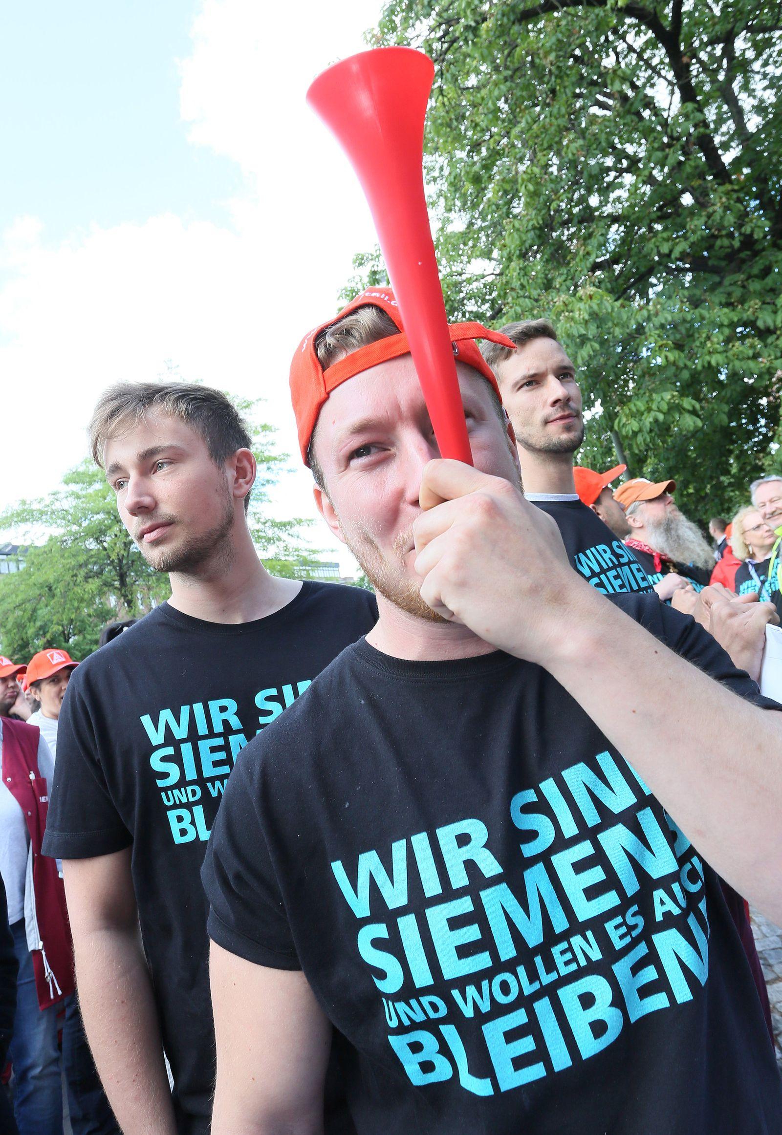 IG Metall-Aktionstag bei Siemens