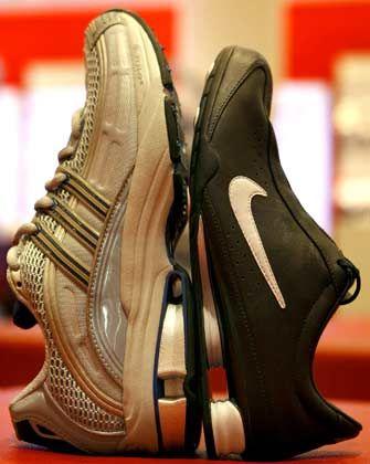 """Nike: Dämpfungssystem """"Shox"""" aus dem Motorsport"""