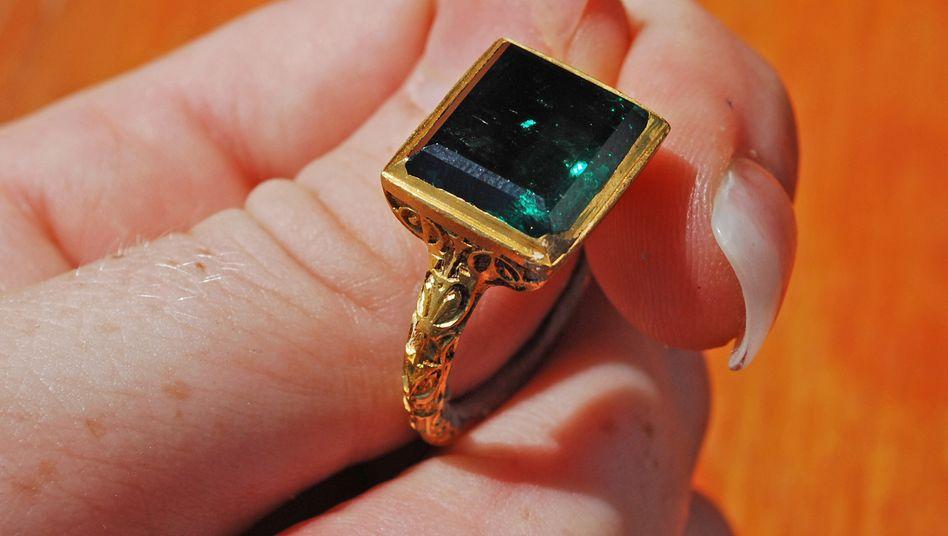 Wertvolles Stück: Schatzsucher finden Ring