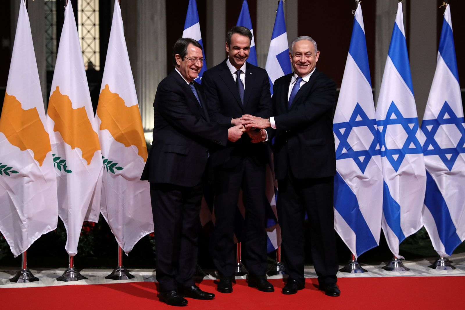 Pipeline-Abkommen Griechenland, Israel