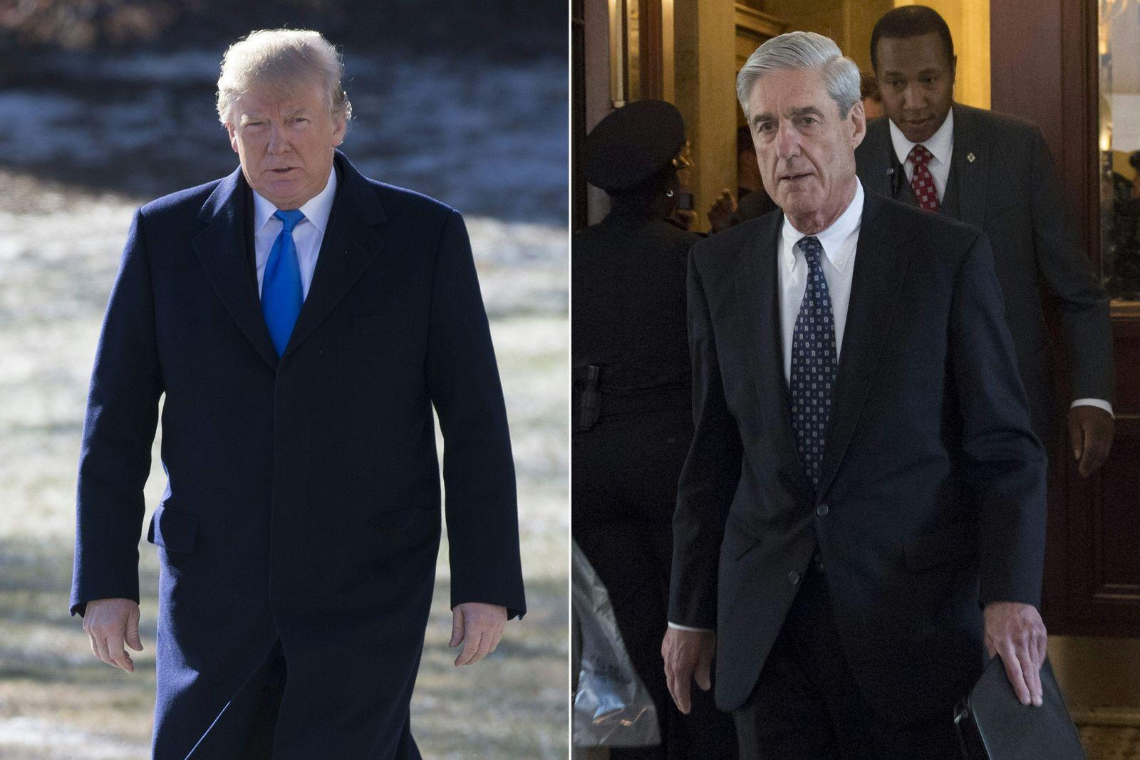 Donald Trump / Robert Mueller