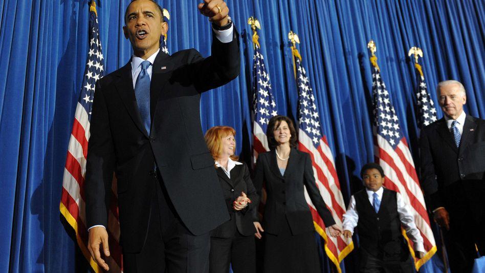 Dagegen: US-Präsident Barack Obama.