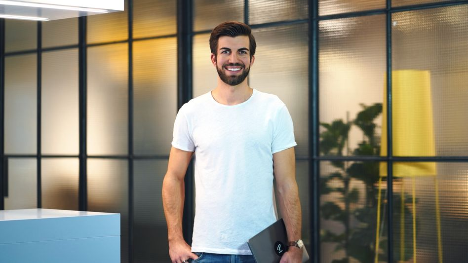 """""""Haben das Potenzial, einen globalen Marktführer aufzubauen"""": Personio-Gründer Hanno Renner freut sich über frisches Geld"""