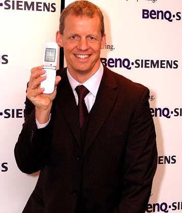 Drastische Maßnahmen zum Personalabbau: BenQ-Siemens-Chef Clemens Joos