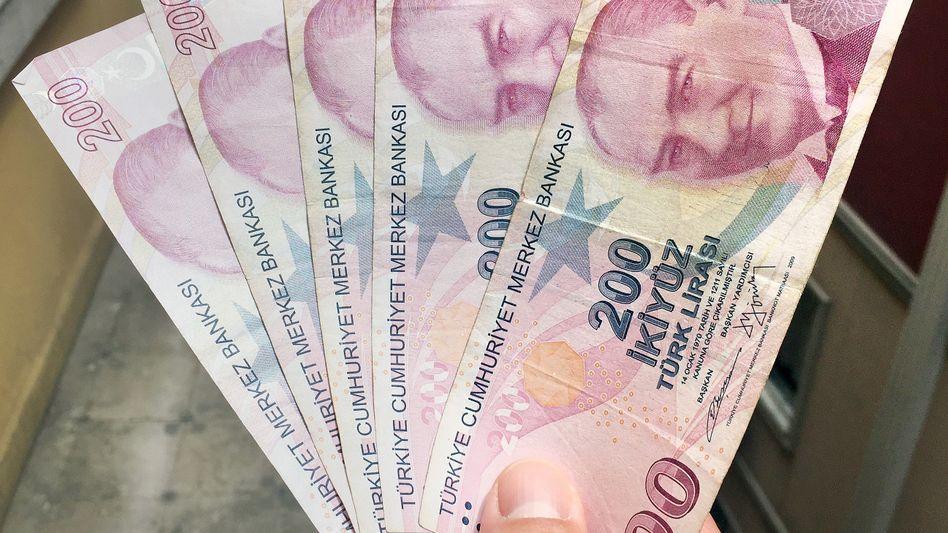 Türkische Lira: Massiv unter Druck