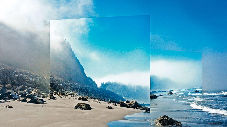 Foto aus der Serie //_PATH des amerikanischen Künstlers Mark Dorf