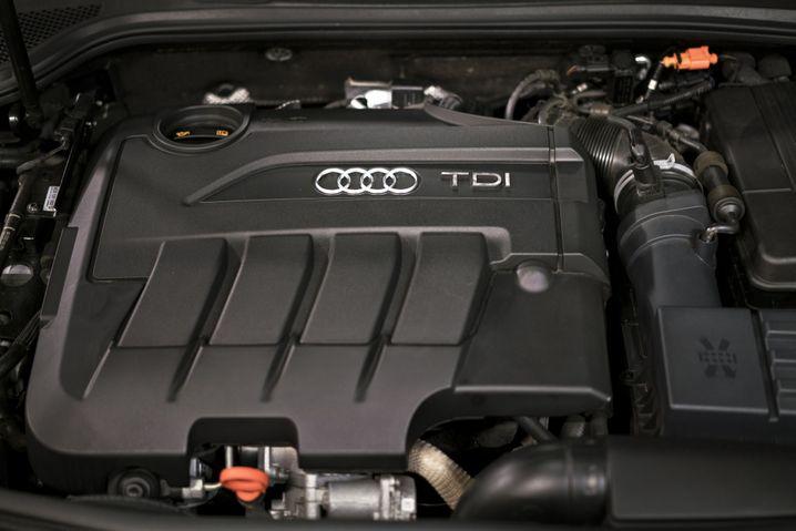 TDI-Dieselmotor von Audi