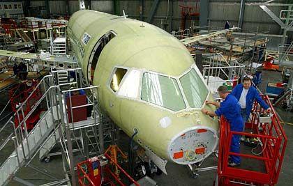 Ruiniert: Flugzeugbauer Fairchild Dornier - von Finanzinvestoren in die Pleite geführt