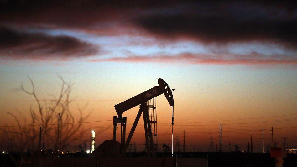 Ölfeld im Permischen Becken in Texas