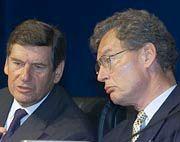 Bald keine Doppelspitze? Ekkehard Schulz (l.) und Gerhard Cromme
