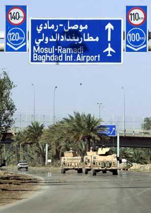 """lWeg zum Bagdader Flughafen: """"Das Fahrzeug fuhr nicht sonderlich schnell"""""""