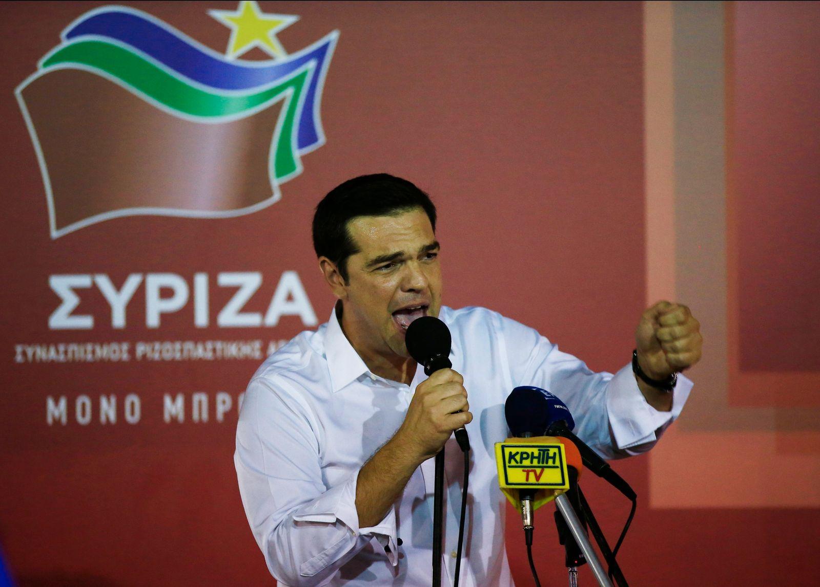 Alexis Tsipras/Griechenland