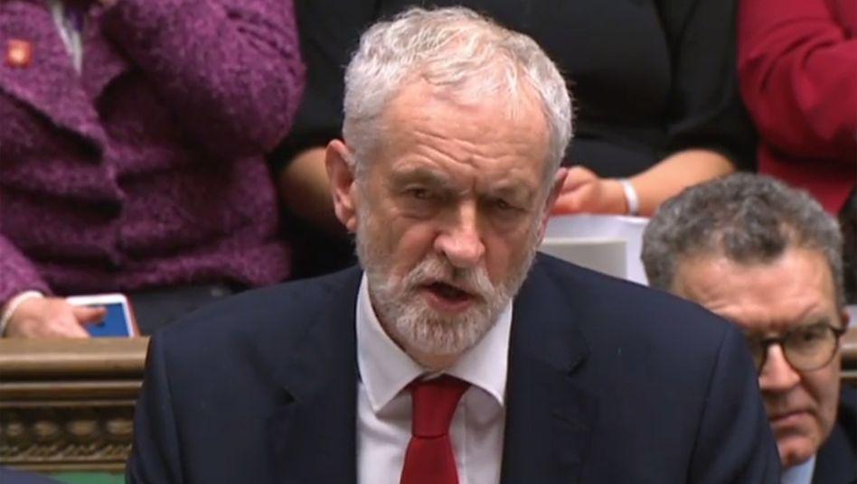 Labour-Chef Corbyn: Auch die Opposition ist uneins beim Brexit