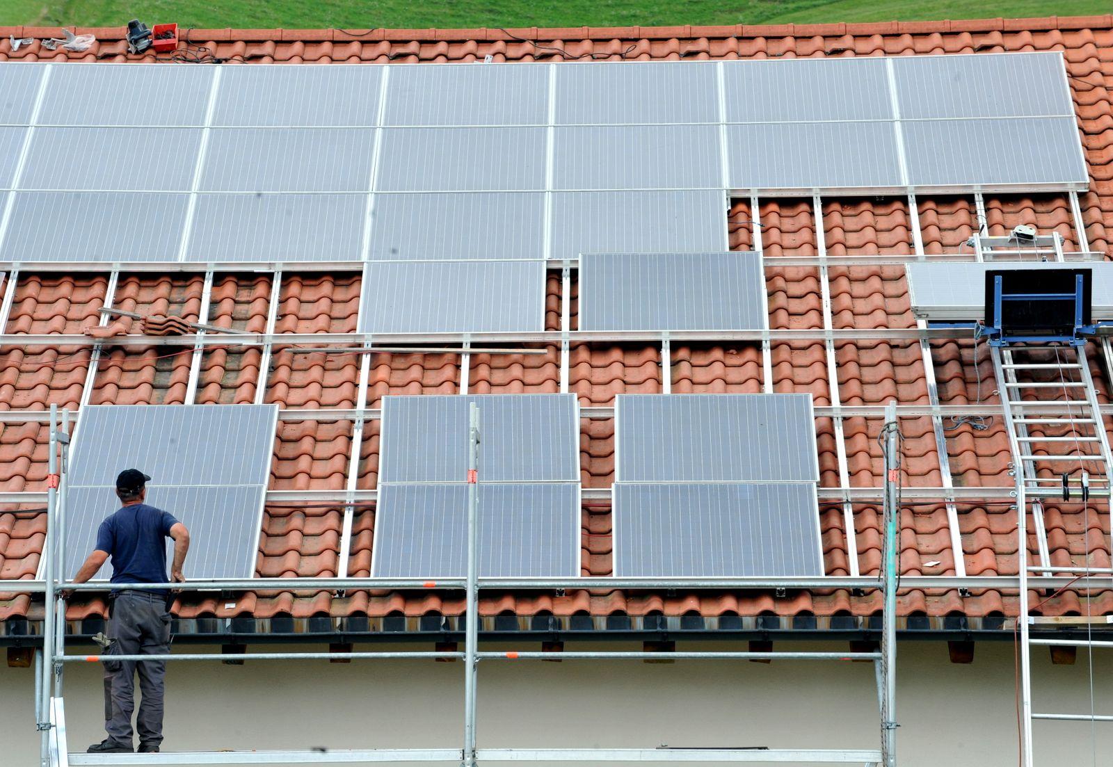 Soloarenergie / Photovoltaik
