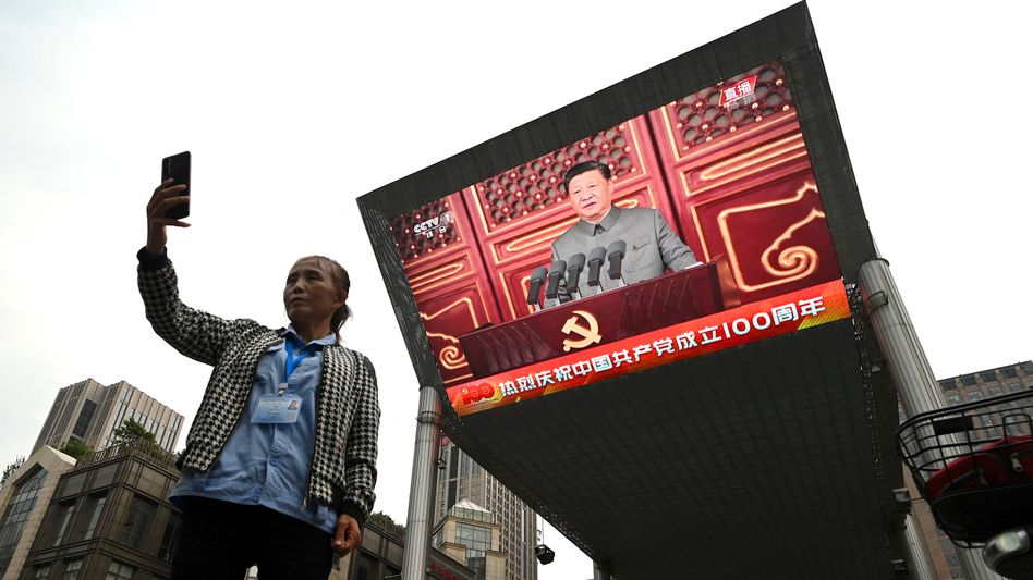 Von oben herab: Xi Jinping ordnet den Tech-Sektor in China neu
