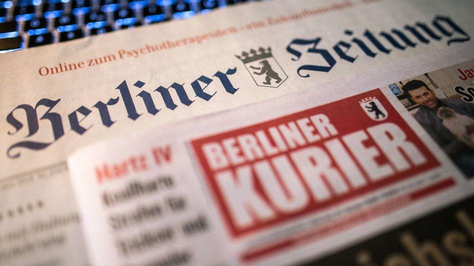 """""""Berliner Zeitung"""" und """"Berliner Kurier"""": Die DuMont-Gruppe hat einen Käufer für die beiden Tageszeitungen gefunden"""