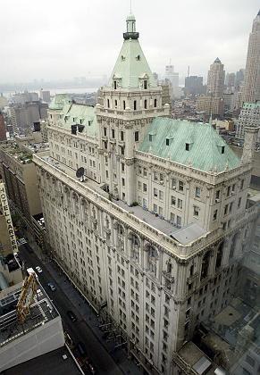 """""""Old Gray Lady"""":Das alte Gebäude der """"New York Times"""""""