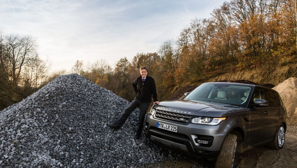 Testfahrt: Mit dem Range Rover Sport ins Gelände