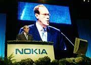 """""""Multimedia-Anwendungen sind die Zukunft des Mobilfunks"""": Nokia-Chef Ollila"""