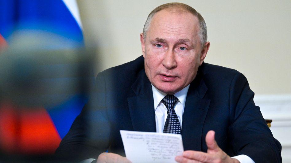 Krypto-Freund: Russlands Präsident Putin äußerte Interesse an Bitcoin und Co