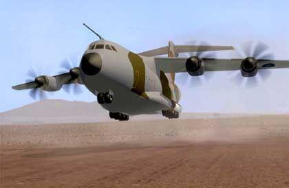 Streitobjekt Airbus A400M