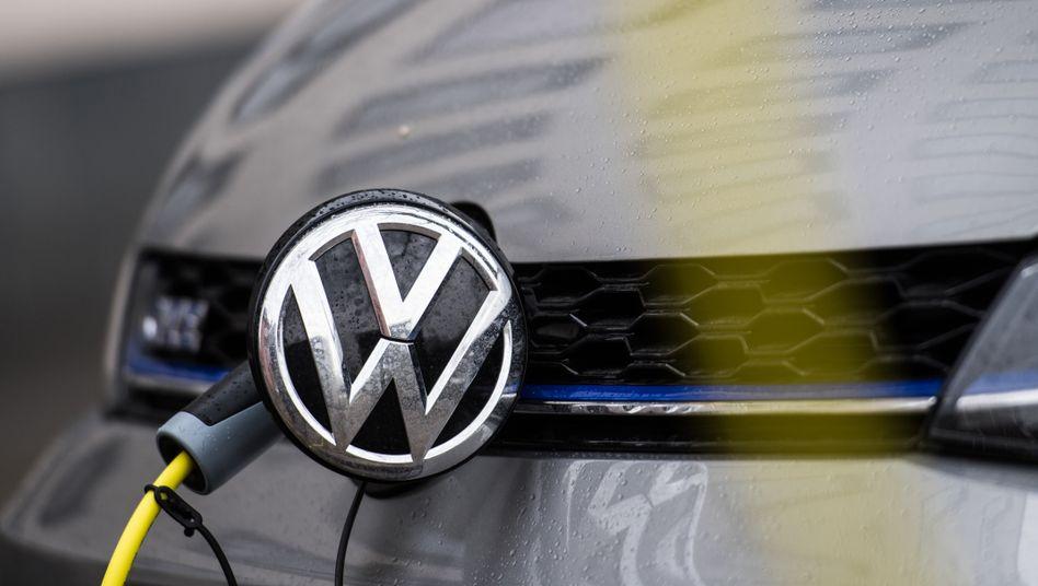 Zündet noch nicht: Elektromodell von Volkswagen